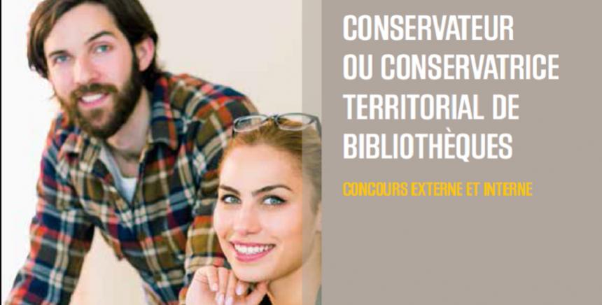 Concours conservateur et conservatrice de bibliothèques 2018 - Admissibles