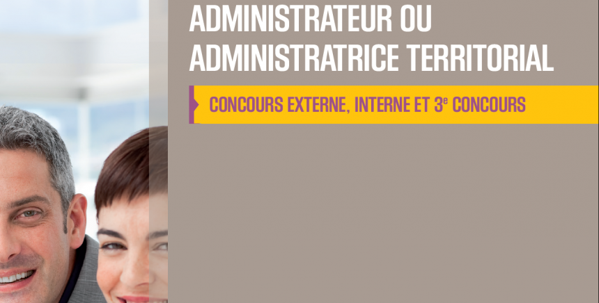 Concours administrateur territorial 2018