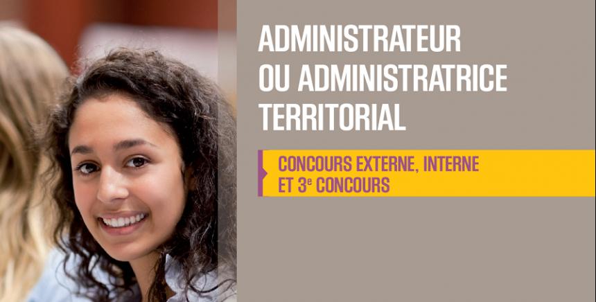 Concours administrateur territorial 2019