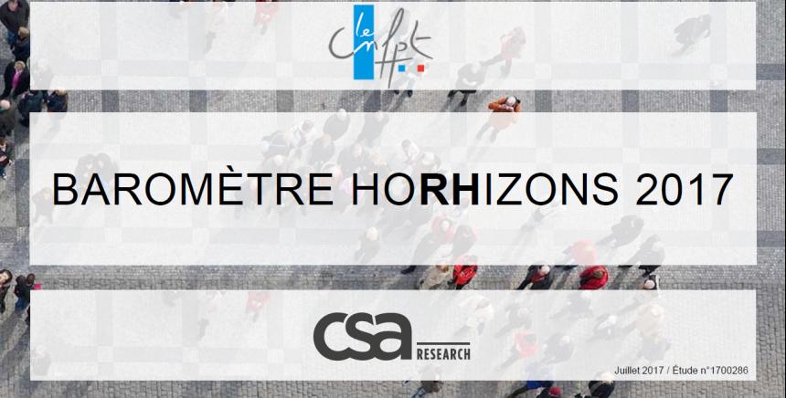 Découvrez les tendances de l'emploi territorial et des politiques RH avec l'édition 2017 du baromètre HoRHizons