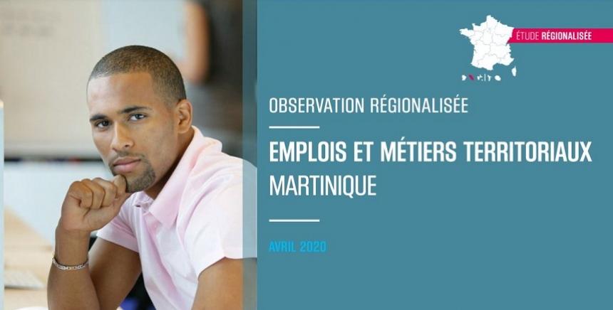 Etude   Emplois & métiers Martinique