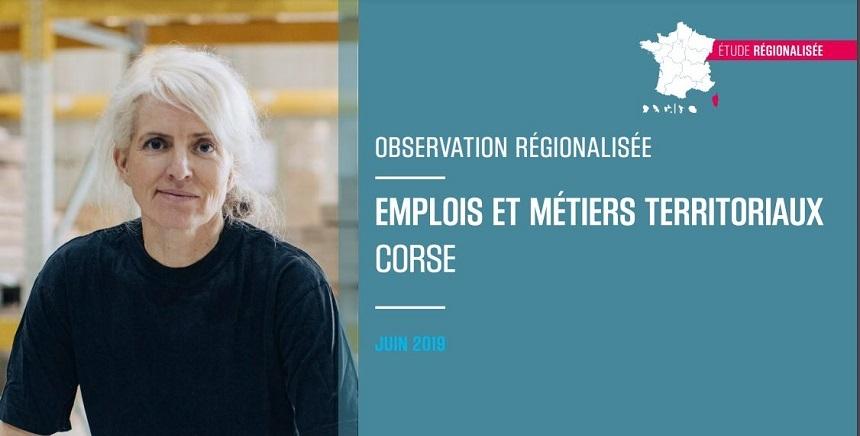 Etude   Emplois & métiers Corse