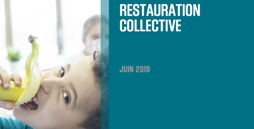 Etude sectorielle - Restauration collective