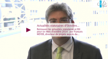 Actualités statutaires-octobre 2014