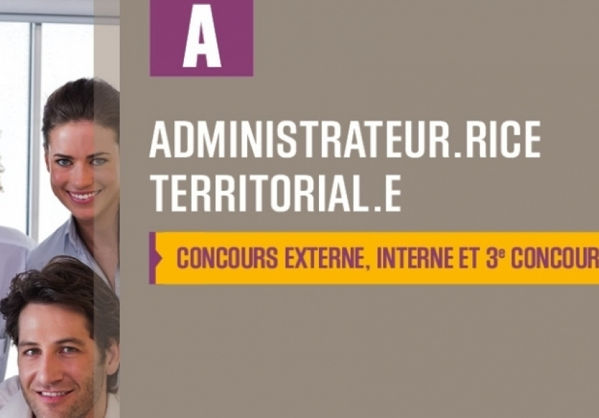 Concours d'administrateur territorial 2018