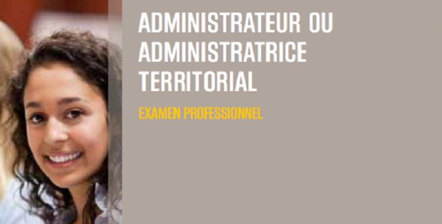 Examen professionnel administrateur 2019