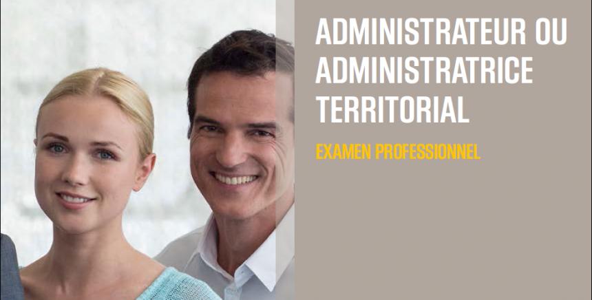 Examen professionnel administrateur territorial 2020
