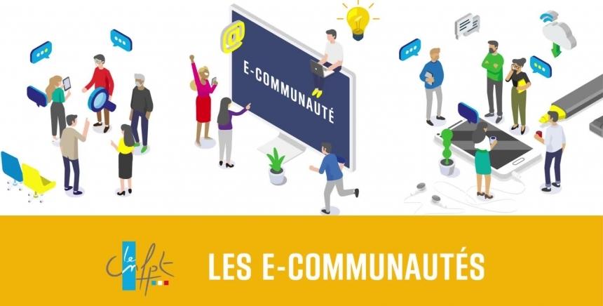 Rejoignez les e-communautés du CNFPT !