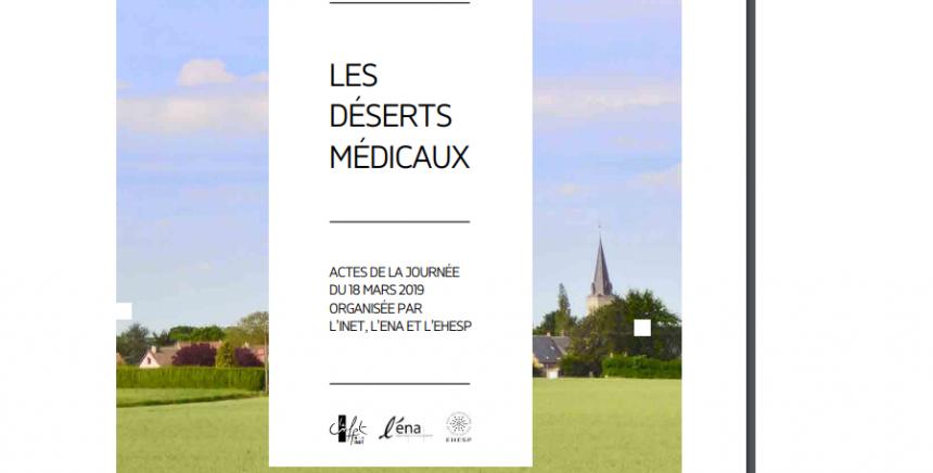 Les élèves de l'INET, promotion Gaston Monnerville, publie un ouvrage autour des déserts médicaux.