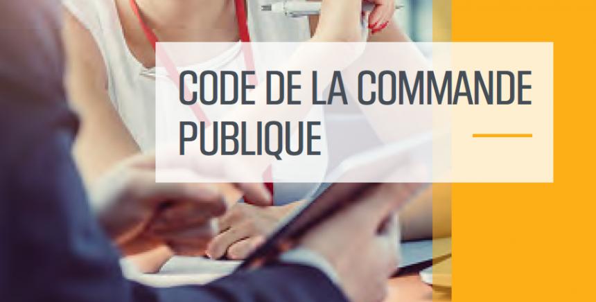 Code de la commande publique